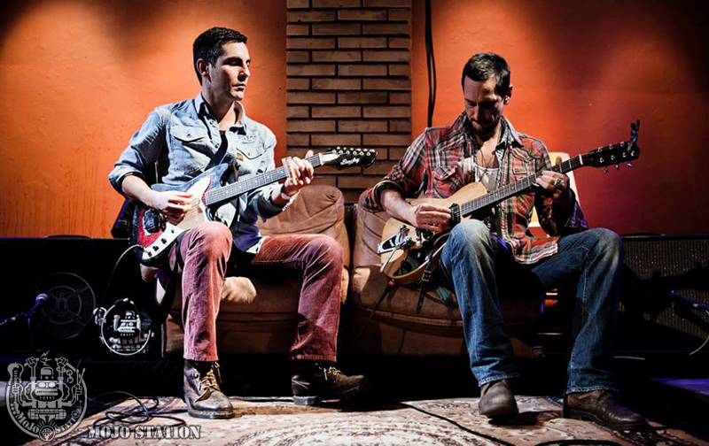 Adriano Viterbini e Roberto Luti @ From Memphis to New Orleans - Mojo Station Special Project