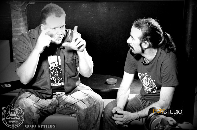 Lightnin' Malcolm_interview@ IX Mojo Station Blues Festival - Roma '13 [Photo PCM Studio_Edoardo_Boccali]