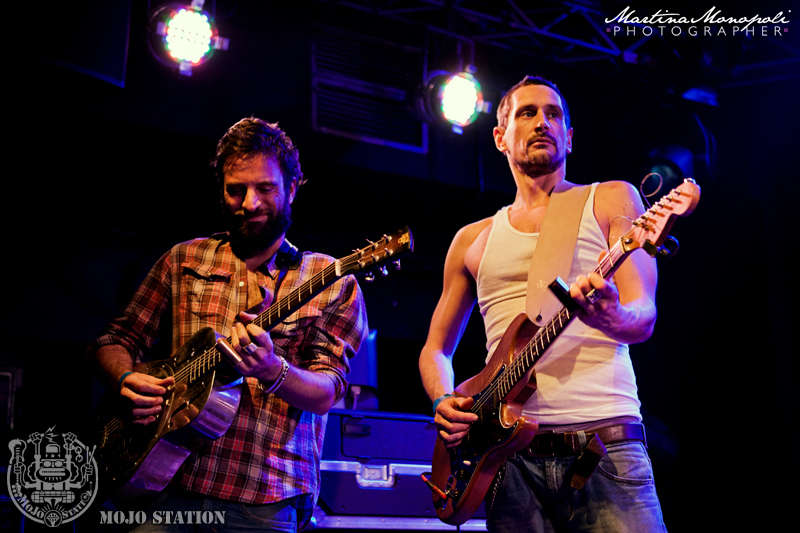 Luke Winslow King Band & Dead Shrimp @ Mojo Station B-Day Party 2013 [Photo Martina Monopoli] (2)
