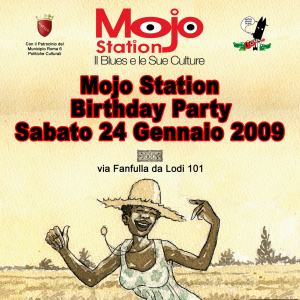 Mojo Station BDay Party - locandina