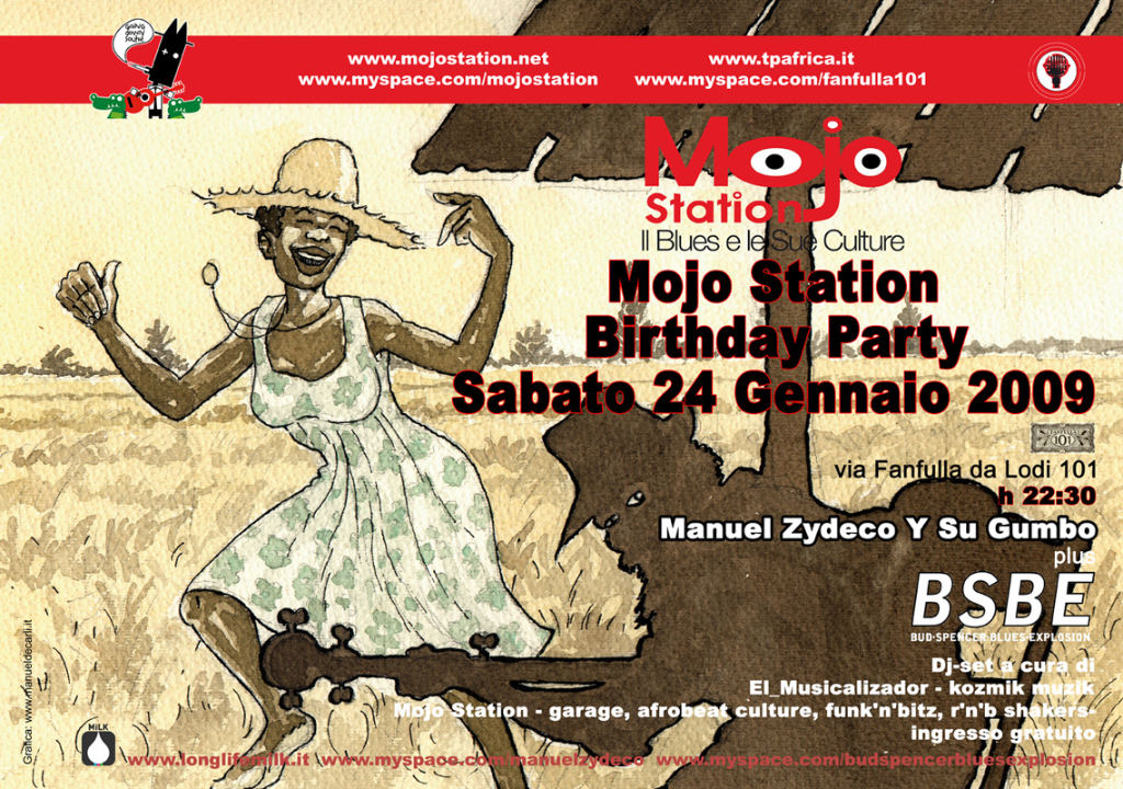 Mojo Station B-Day Party 2009